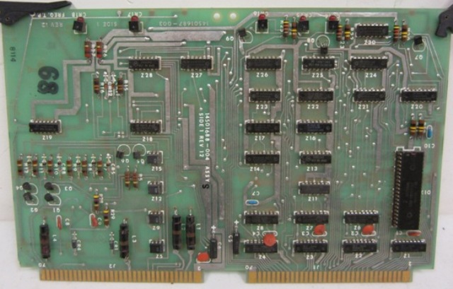 Delta 1000 Channel Interface Board Assy S Rev 12