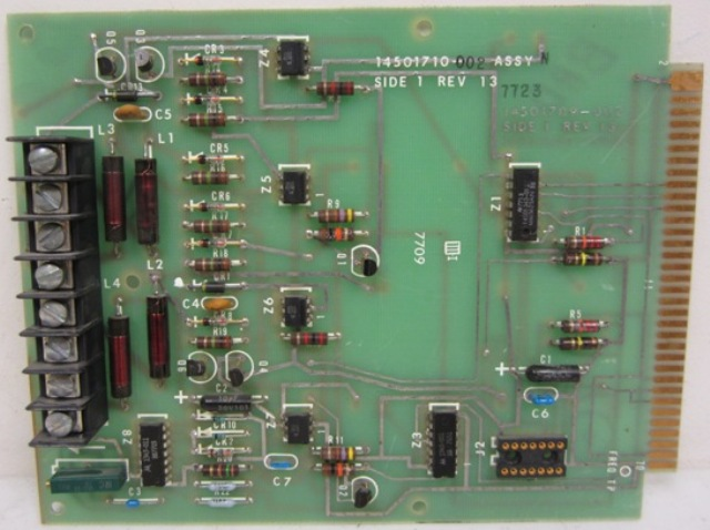 Transmission Line Interface Board SN# 7632 Assy M Rev 12
