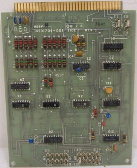 S1000 DGP Analog Input Board Rev 6 Assy J