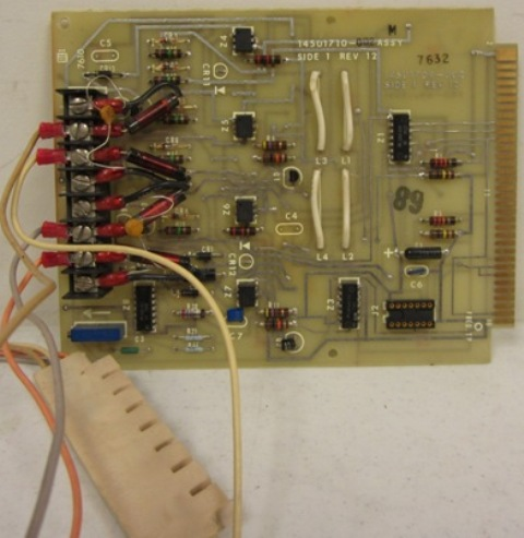 Transmission Line Interface Board Assy W Rev 3
