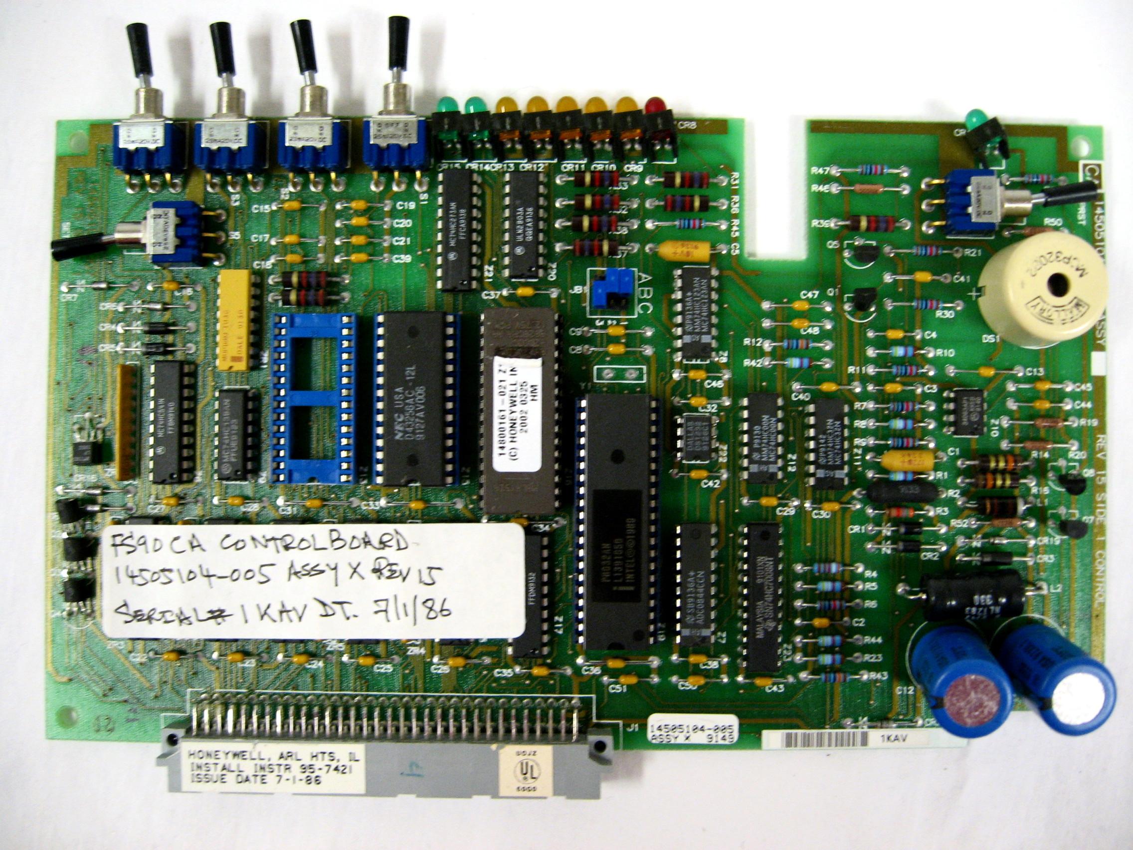 CA FS90 Control Board